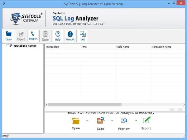 SQL Log Analyzer » View & Read SQL Server Transaction Log File